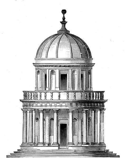 Romanesque Church Floor Plan by Tempietto Von Bramante Renaissance Chapel In Rome