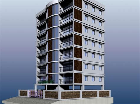apartment design software residential architecture apartment buiding max 3ds max
