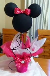 centerpieces for minnie mouse minnie mouse centerpiece