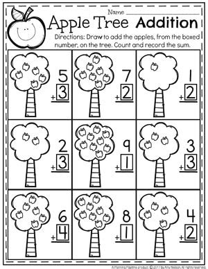 addition planner addition worksheets planning playtime