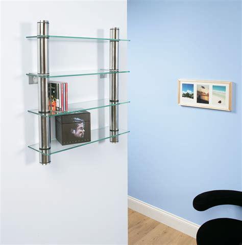 Wall Mounted Cd Shelf by Cd Rack Shelf Shelves Shelving Wall Mounted Clear Glass