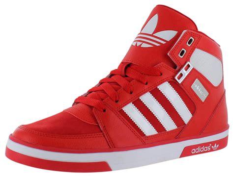 Adidas High 1 adidas and white high tops