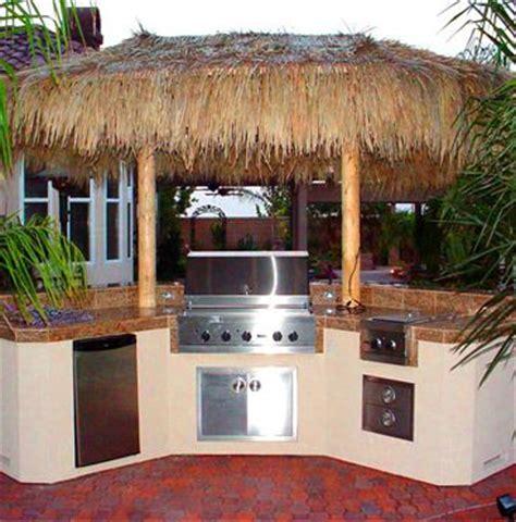 Tiki Bar Kitchen Outdoor Kitchen Sans The Hula Skirt Top Tiki Bar Project