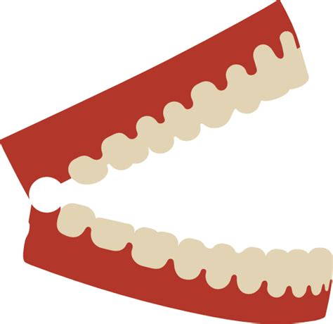 jaw chattering chattering teeth clip at clker vector clip royalty free