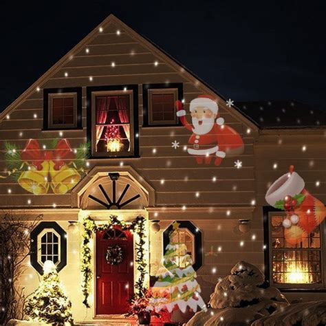 Best Home Decoration Stores 12 types christmas laser snowflake projector outdoor led