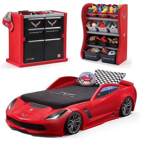 corvette toddler bed set corvette 174 bedroom combo bedroom combo step2