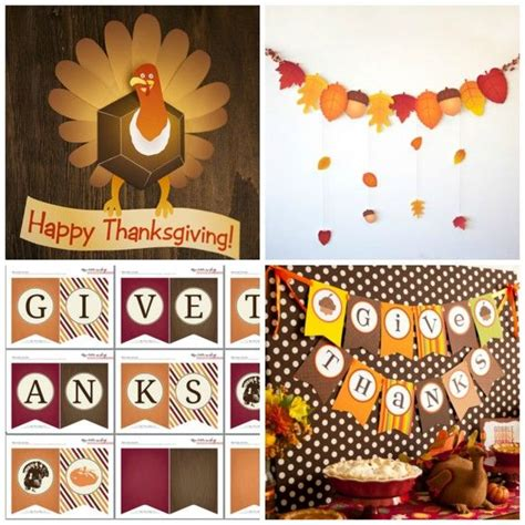 printable thanksgiving turkey decorations 77 best thanksgiving printables images on pinterest free