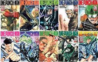 one punch vol 11 one punch 1 10 vol set lot shonen jump yusuke