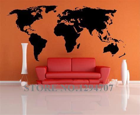 Wall Paper Sticker 145 1 pcs 200x90cm best selling big global world map vinyl wall sticker home decor wallpaper