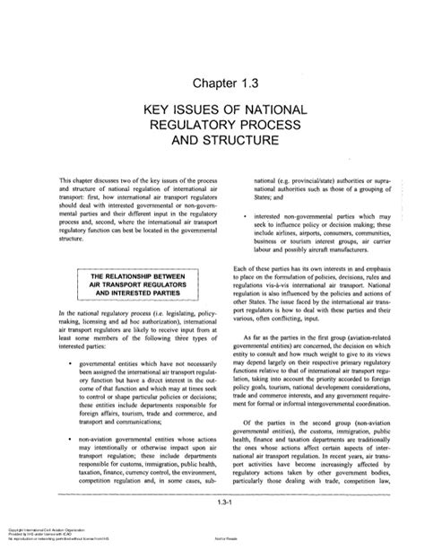 doc 9626 manual on the regulation of international air transport