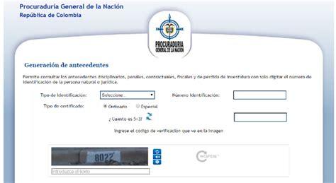 consultar certificado de antecedentes en colombia como consultar antecedentes judiciales en colombia