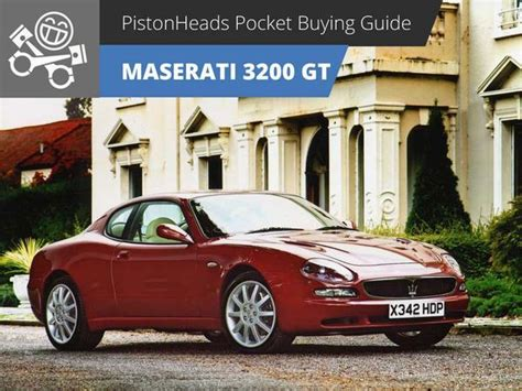 maserati philippines maserati 3200 gt 98 02 ph pocket buying guide pistonheads