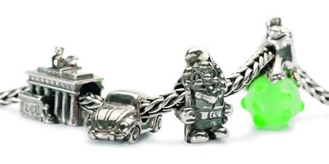 Trollbeads World Tour Germany   Silver Charms, Silver & Glass Bead   TrollbeadsAkron.com