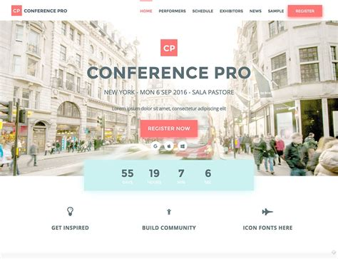 seminar themes exles 30 best events wordpress themes 2016 athemes