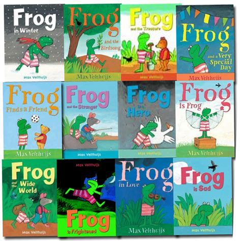 frog picture books frog series 12 books collection set by max velthuijs frog