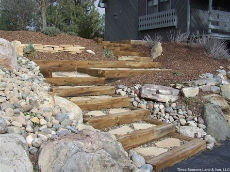 synthetic landscape timbers backyard drainage ideas 2017 2018 best cars reviews