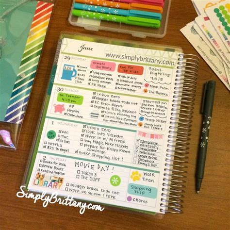 planner layout functional planner stickers from planner press