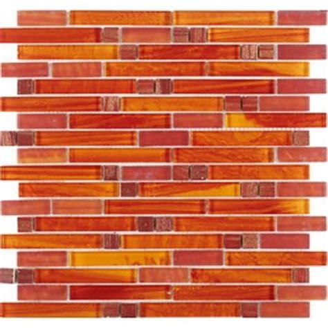 orange glass tile backsplash tst glass tiles for kitchen and bathroom