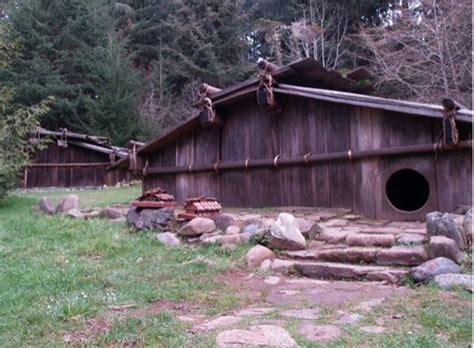 Plank House by Box House Plank House Construction Yurok Tribe