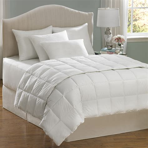 white queen size comforter sets shop aller ease hot water wash white full queen comforter