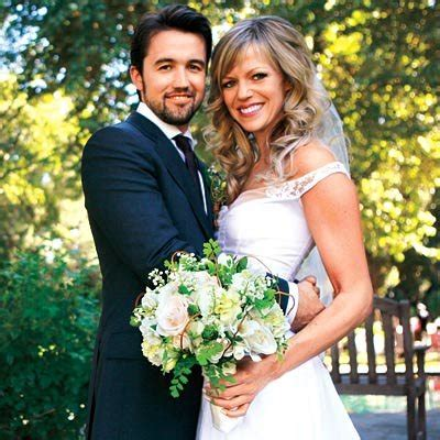 celebrity wedding kaitlin olson amp rob mcelhenney