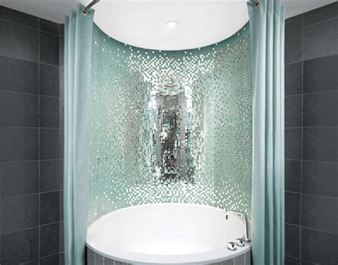 Mirrored Mosaic Tiles Interior Design Inspiration Eva Mirrored Bathroom Tiles