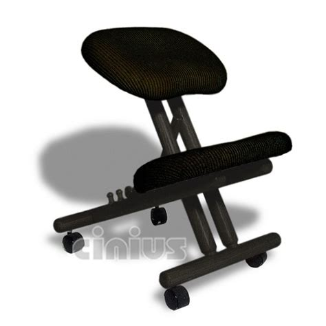chair without back ergonomic professional ergonomic chair without back black color
