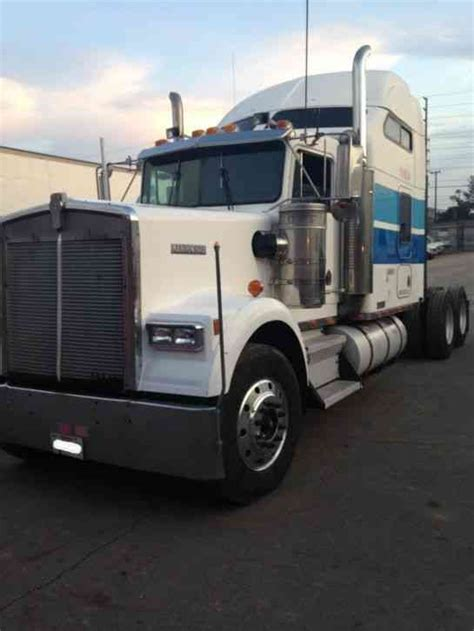 kenworth w900 1995 sleeper semi trucks