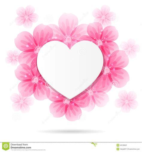 imagenes flores en forma de corazon fondo con el marco y las flores en forma de coraz 243 n