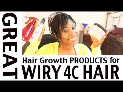 what is best hair cream for wirey gray hair products i m using to grow my wiry 4c hair back fast youtube