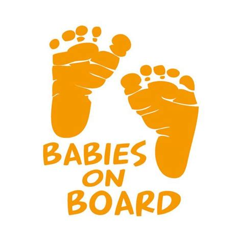 Stiker Cutting Baby On Board custom vinyl car decals and baby on