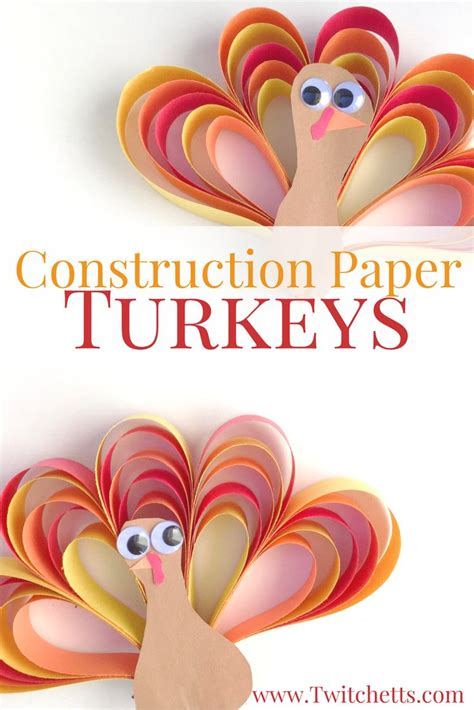 Thanksgiving Crafts Construction Paper - 25 best paper strips ideas on