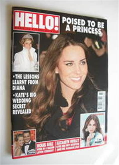 Kate In Magazine I Am A Bit Wacky by Hello Magazine Kate Middleton Cover 18 April 2011