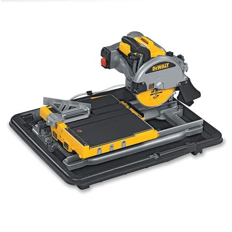 dewalt d24000 wet saw tile cutter in stock for uk next day delivery