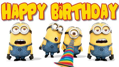 imagenes de minions que digan feliz cumpleaños imagenes de feliz cumpleanos de minions imagenesbellas