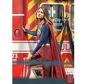 Melissa Benoist On The Set Of Supergirl  Tom Lorenzo
