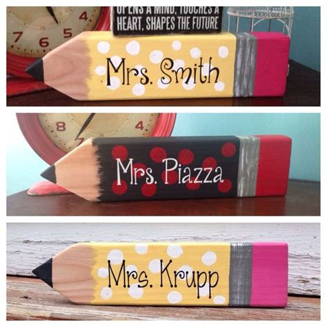 wooden name signs for desk desks name signs and on