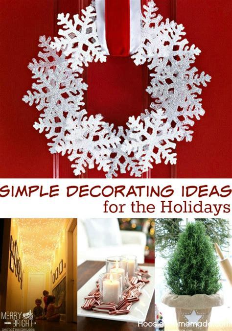 simple decorating ideas inspiration