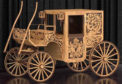 stage coach laser cut plans  file   axisco