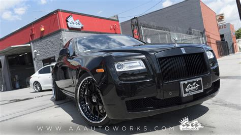 roll royce forgiato rolls royce ghost on forgiato quot drea quot wheels aa autoworks