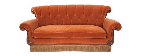 couch from friends el m 237 tico sof 225 del caf 233 central perk de la serie friends