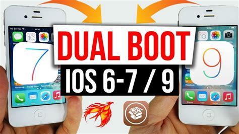 dual full version ios dual boot ios 6 1 3 7 ios 9 3 5 on 32bit devices