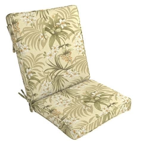 high back patio chair cushions clearance arden outdoor patio high back chair cushion doreena twilight