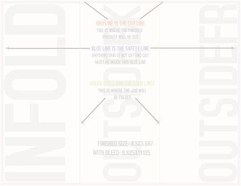 8 5x11 tri fold brochure template templates