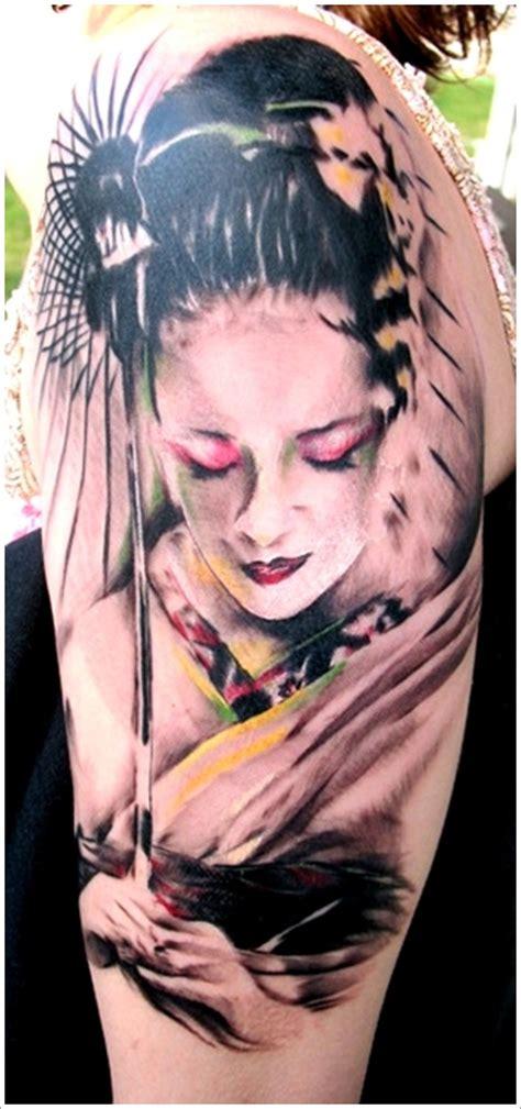 best geisha tattoo artist 12 best geisha tattoo designs amazing tattoo ideas