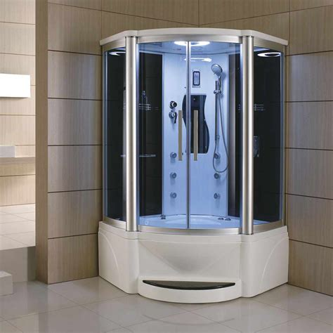 Whirlpool Bathtub Shower by Eagle Bath Corner Steam Shower With Whirlpool Bathtub