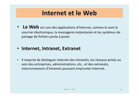 concepts dinternet intranet et extranet n apercu de ce qui peut initiation 224 internet