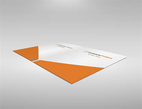 presentation folder template psd free psd 2 pocket presentation folder mockup template on