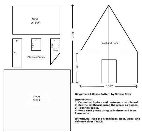 templates for gingerbread houses best photos of gingerbread houses templates and patterns