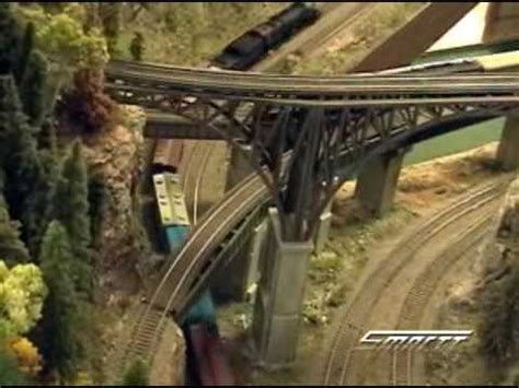 ho scale model train layout  pacific northwest